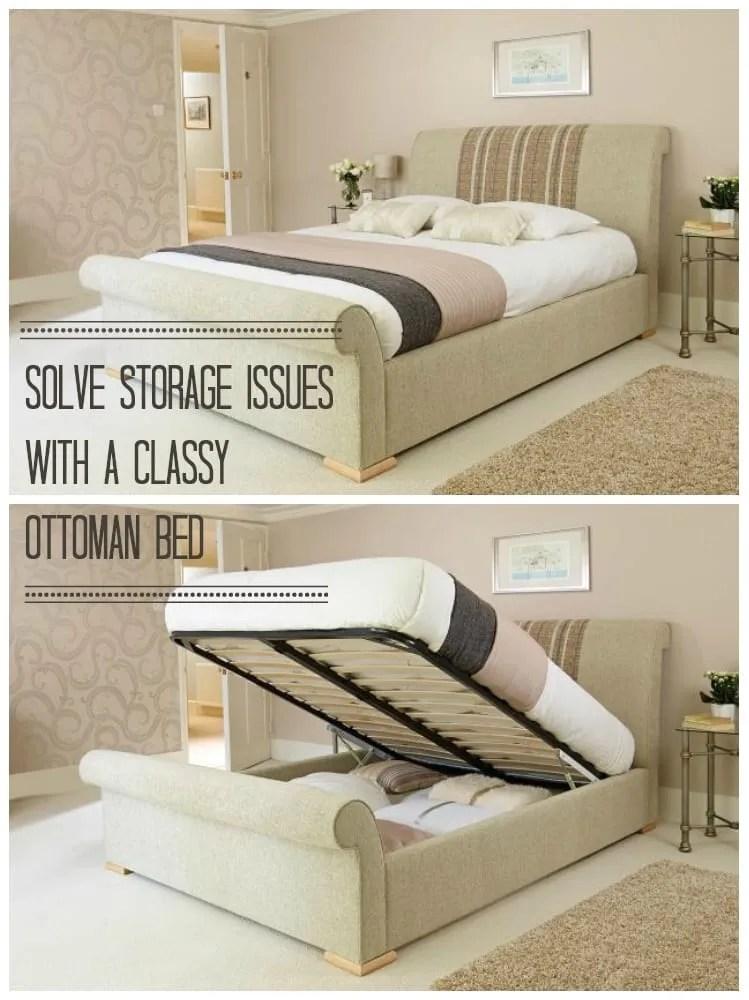 hide the clutter stylish bedroom storage love chic living. Black Bedroom Furniture Sets. Home Design Ideas