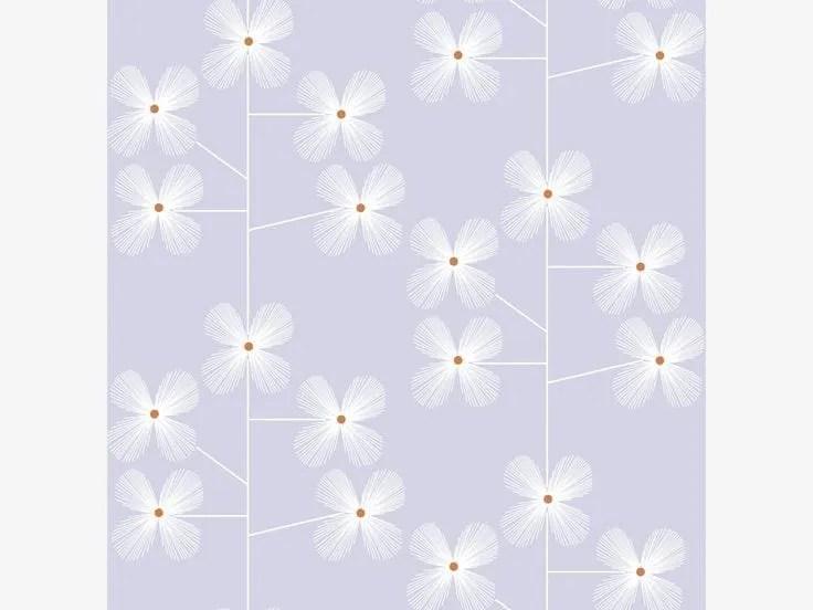 geo floral close up