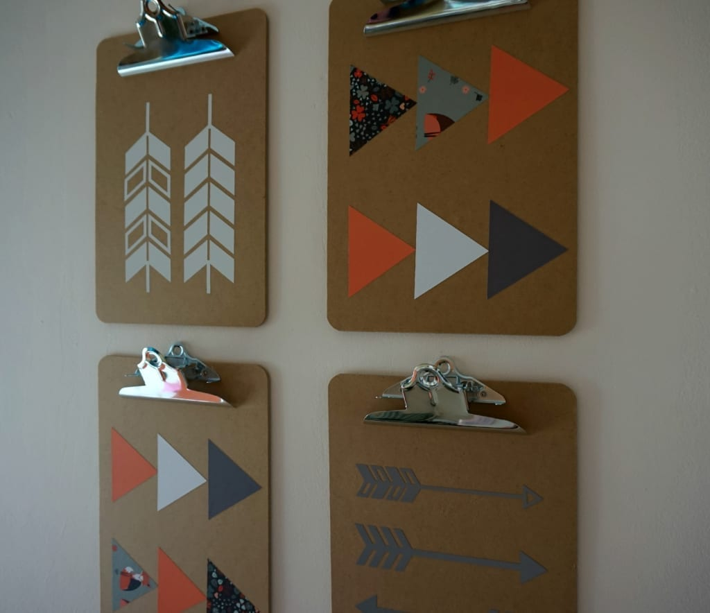 Scandi clipboards