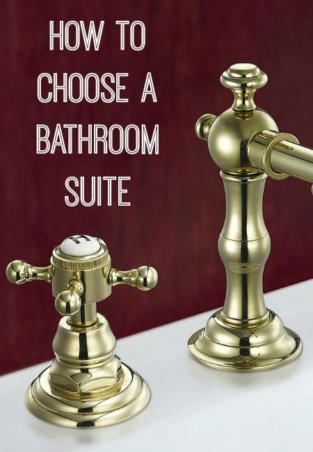 how to choose a bathroom suite the easy way