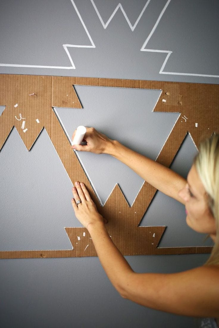 Pinterest: Creative Wall Displays - Love Chic Living on Creative Wall Decor  id=65104