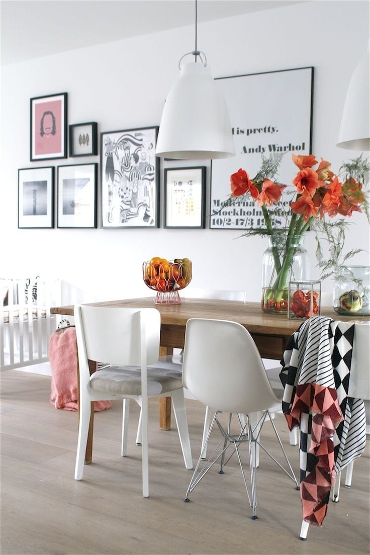 Pinterest: Creative Wall Displays - Love Chic Living on Pinterest Wall Decor  id=84272