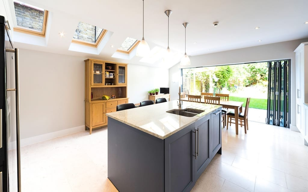 kitchen-extension-limestone-floor