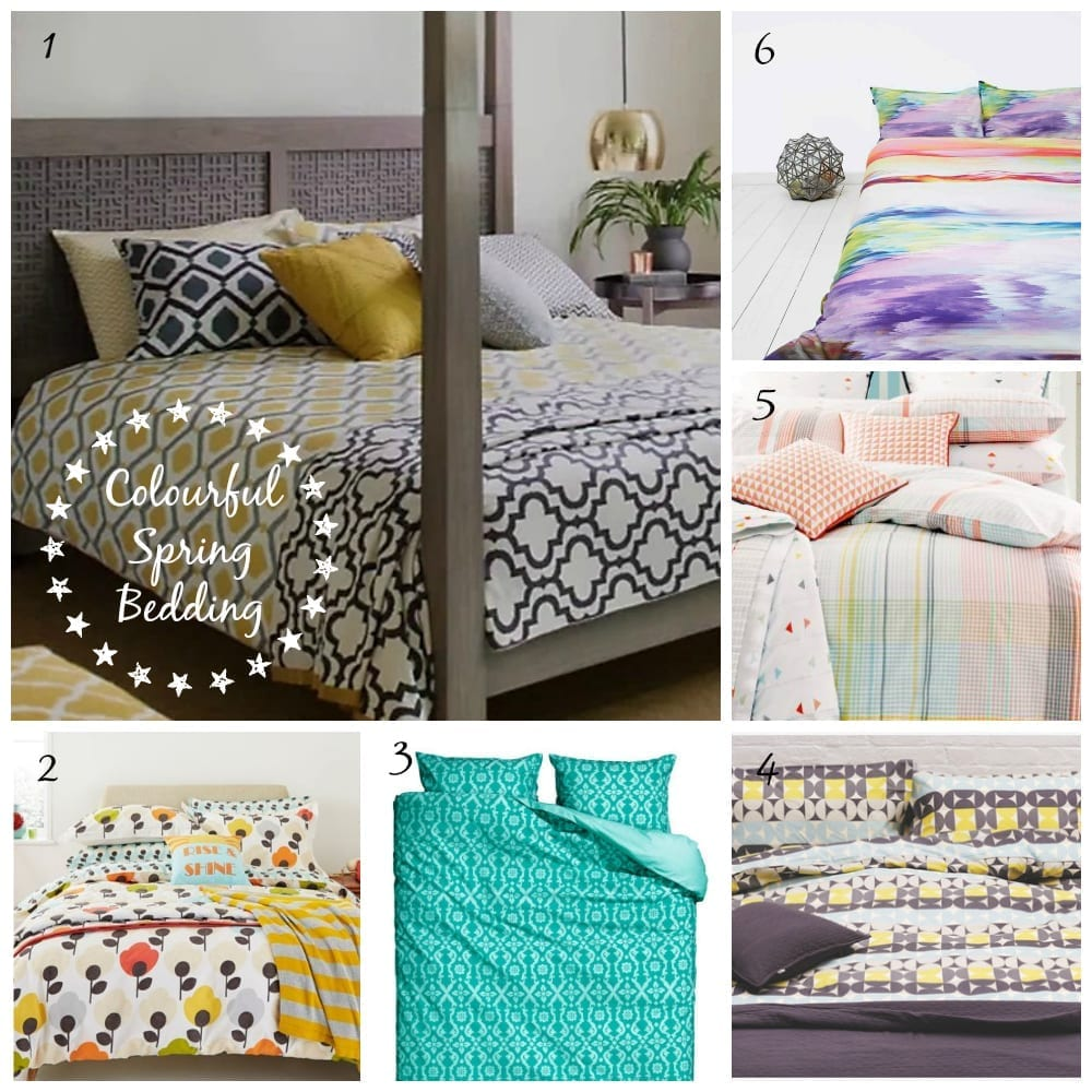 Dress your bed for Spring