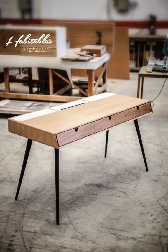 Retro mid century dressing table