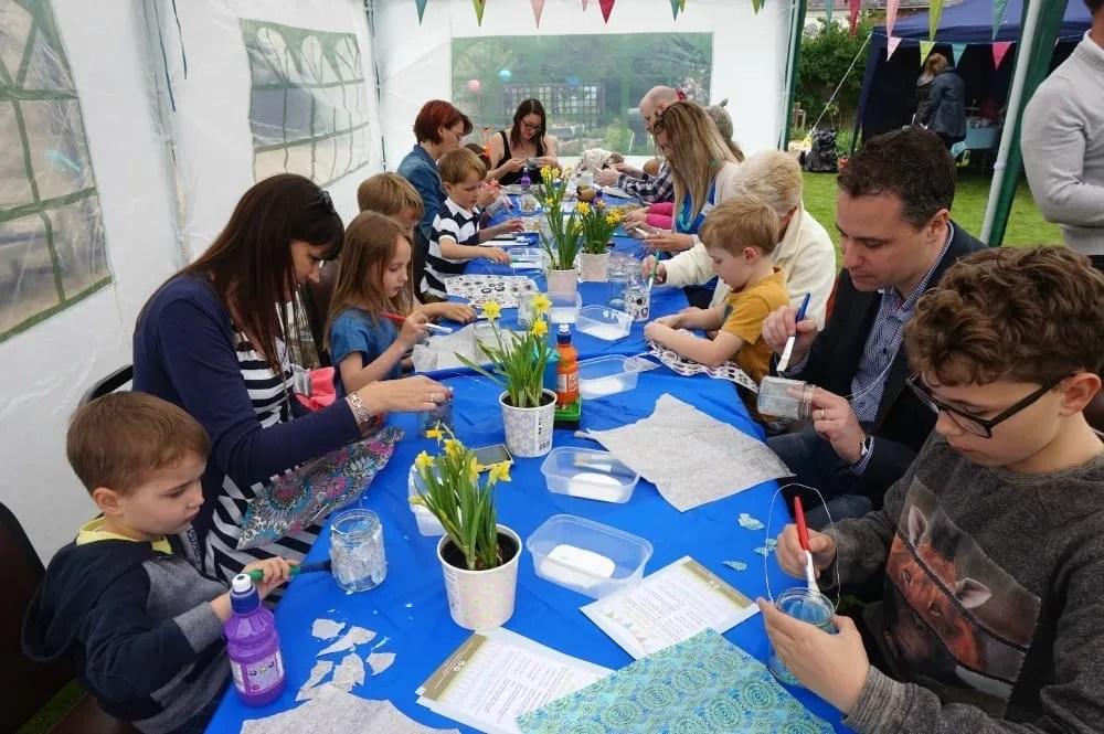 Garden party craft