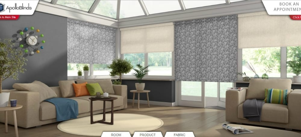 conservatory apollo blinds visualiser
