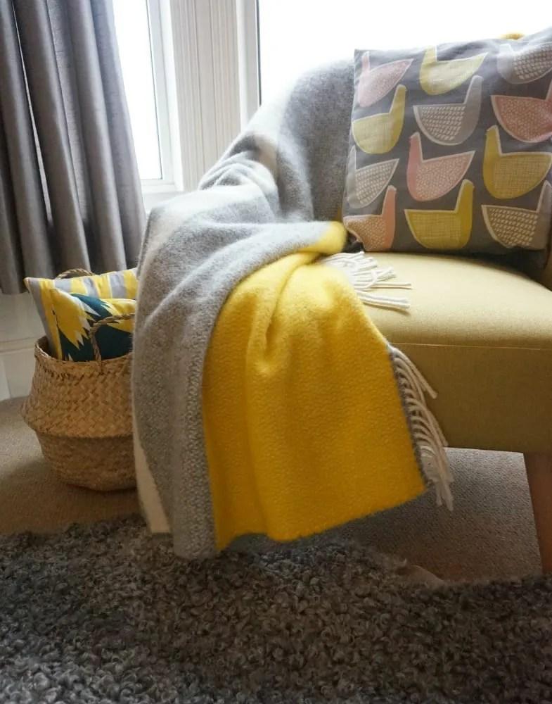 Lifestyle blanket from Tartan Blanket company