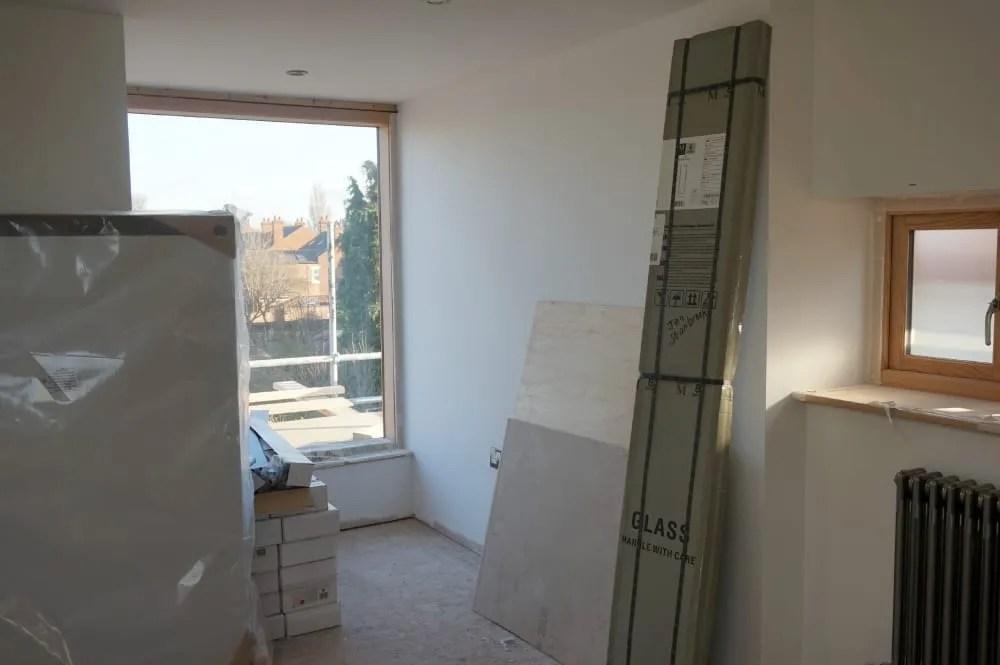Loft bedroom window