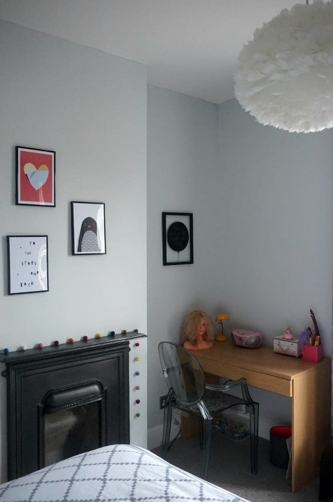 Girls room makeover