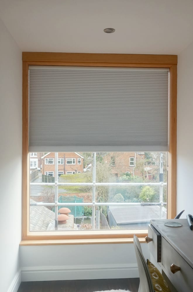 Large window Luxaflex blinds