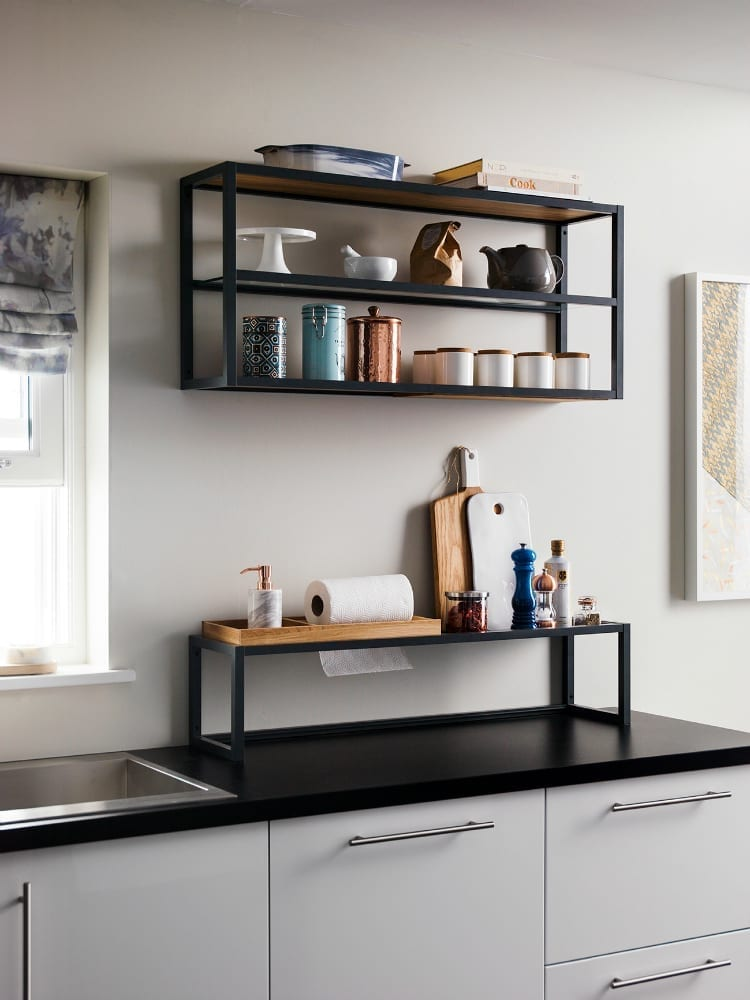 Magnet Kitchens Filming Shelf Plus Love Chic Living