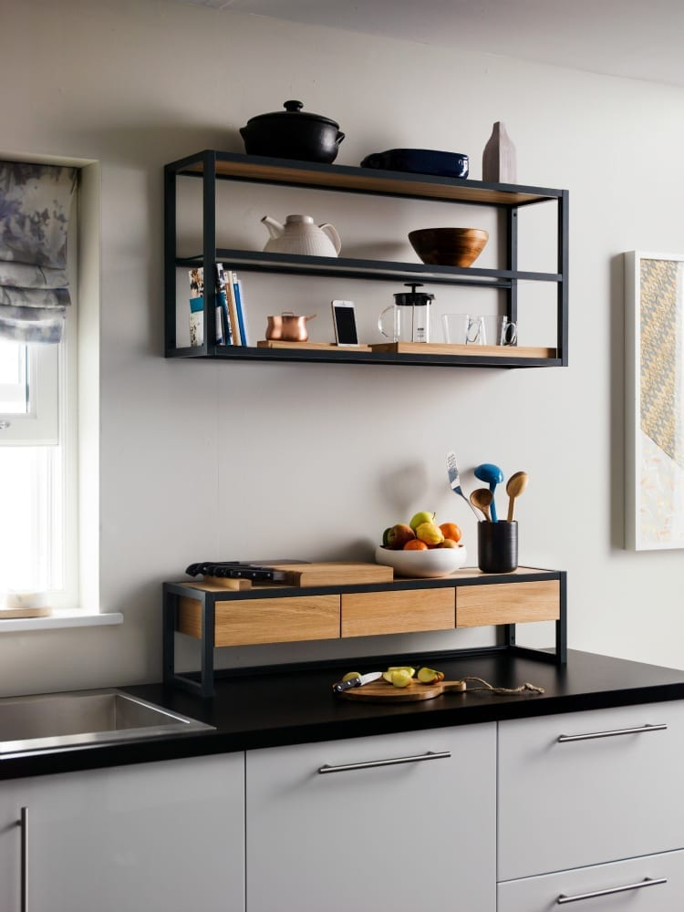 Kitchen Shelves for Small Spaces