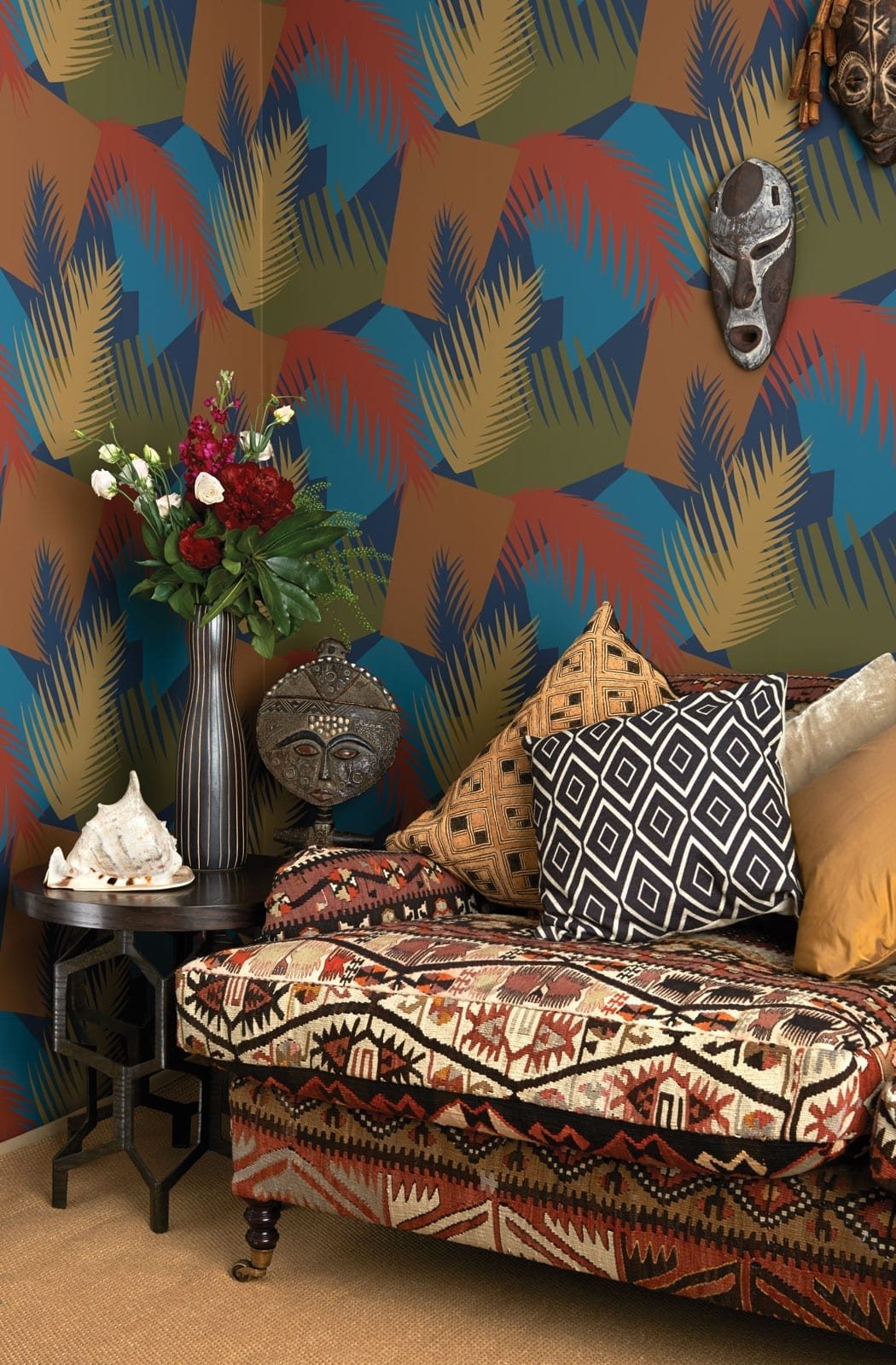 Wallpaper Wednesday Deco Palm From Cole And Son Love