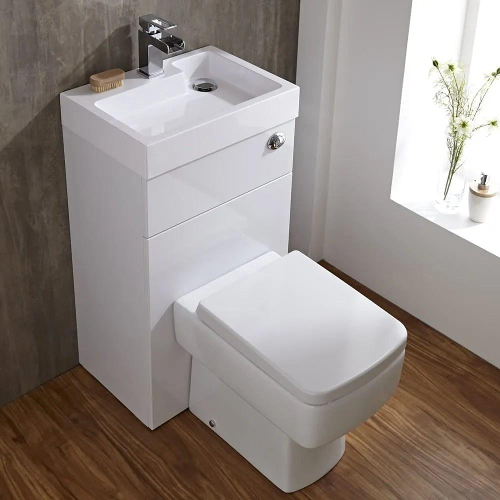 Milano combination toilet and basin unit