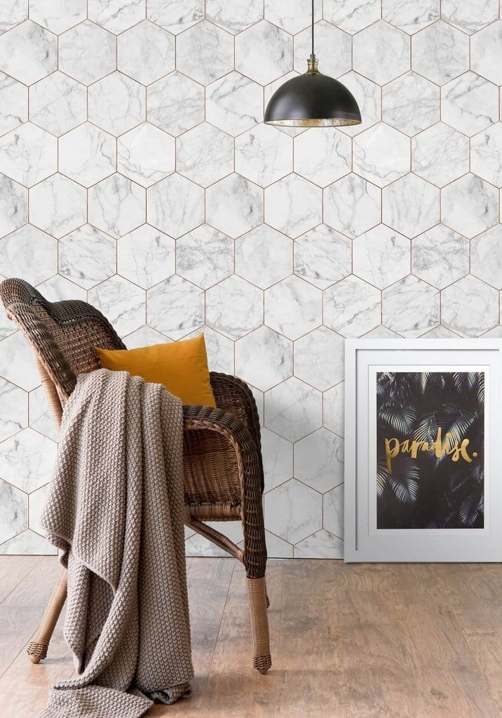 7 of the best marble wallpapers, which one gets your vote? Check out these stunning on-trend trompe l'eoil effect wallpaper designs for your walls. A great way to bring a marble look into your home., from light marble to dark marble too.