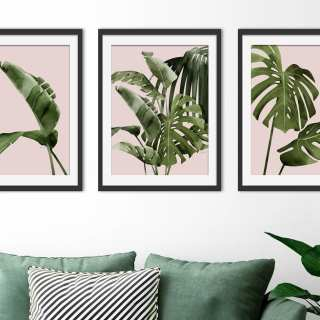 WIN a Set of 3 Tropical Prints from Green Lili worth £69