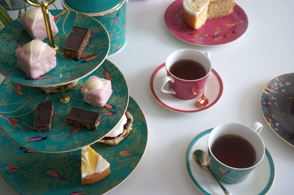 WIN a Sara Miller London Afternoon Tea Set from Portmeirion worth £195