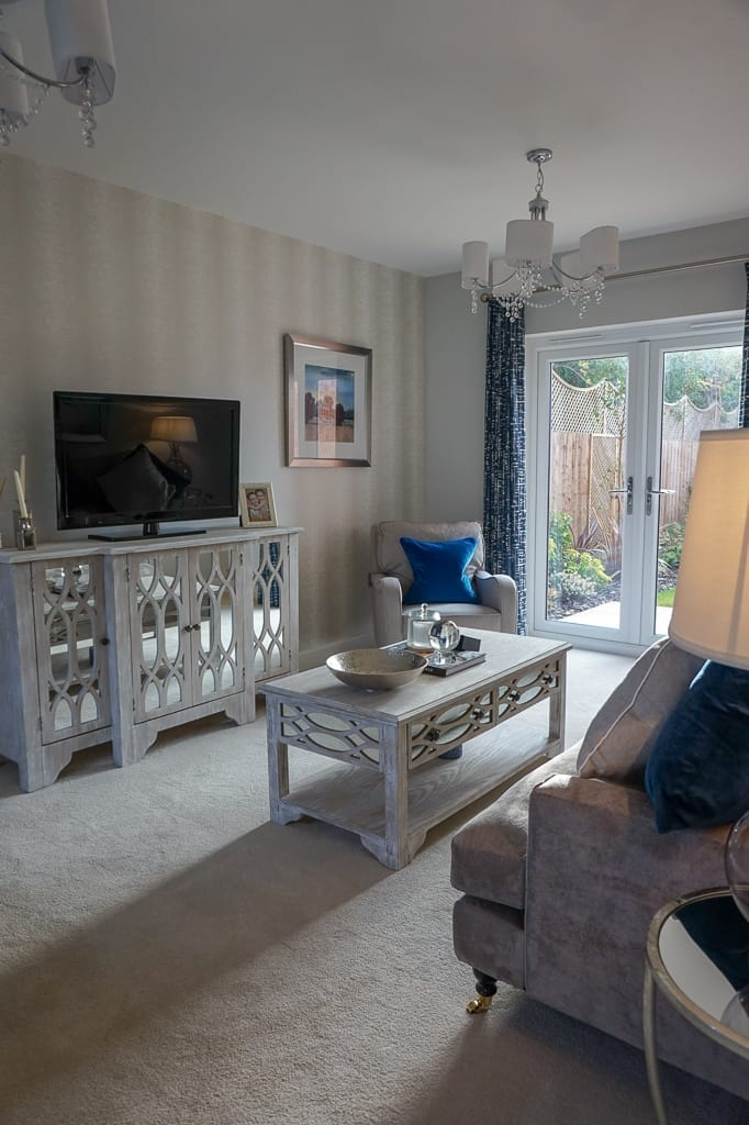 Miller Homes living room