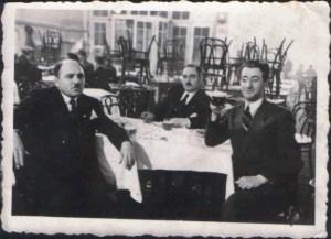 Банчо Банчевски (вдясно) през 30-те, преди да емигрира от България.