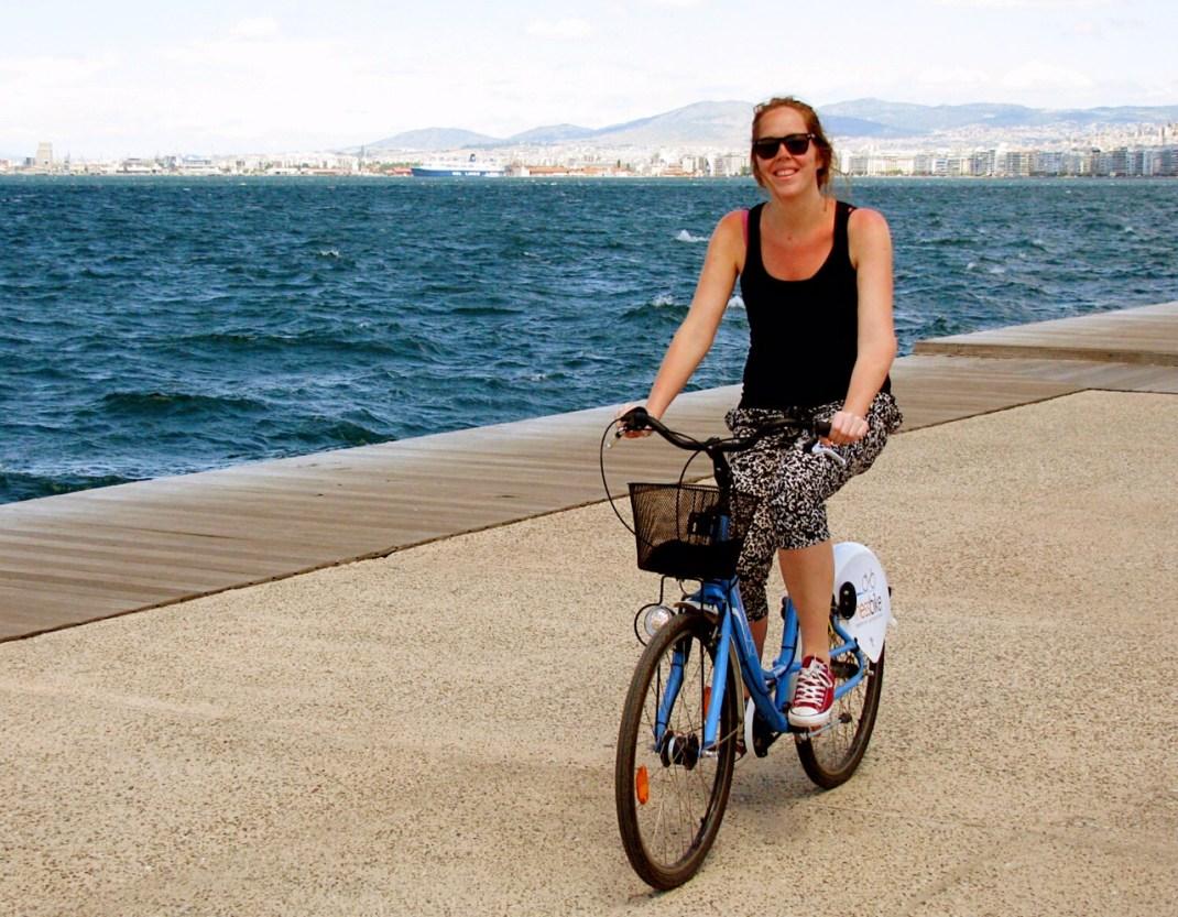 Boulevard Thessaloniki per fiets
