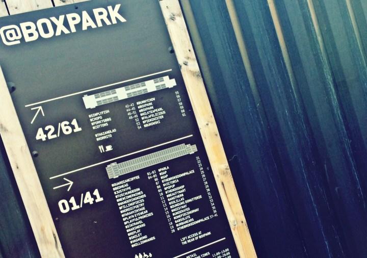 @Boxpark Shoreditch