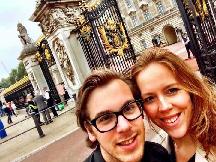 Buckingham Palace- Klassiek Londen