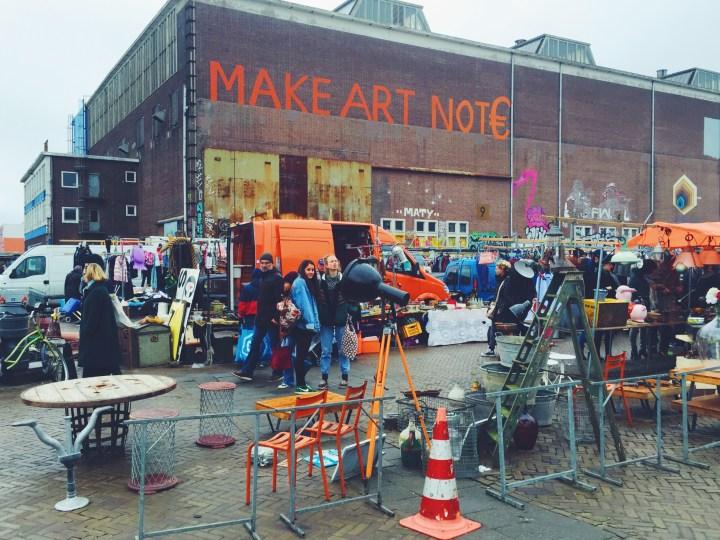 Ijhalen vlooienmarkt amsterdam
