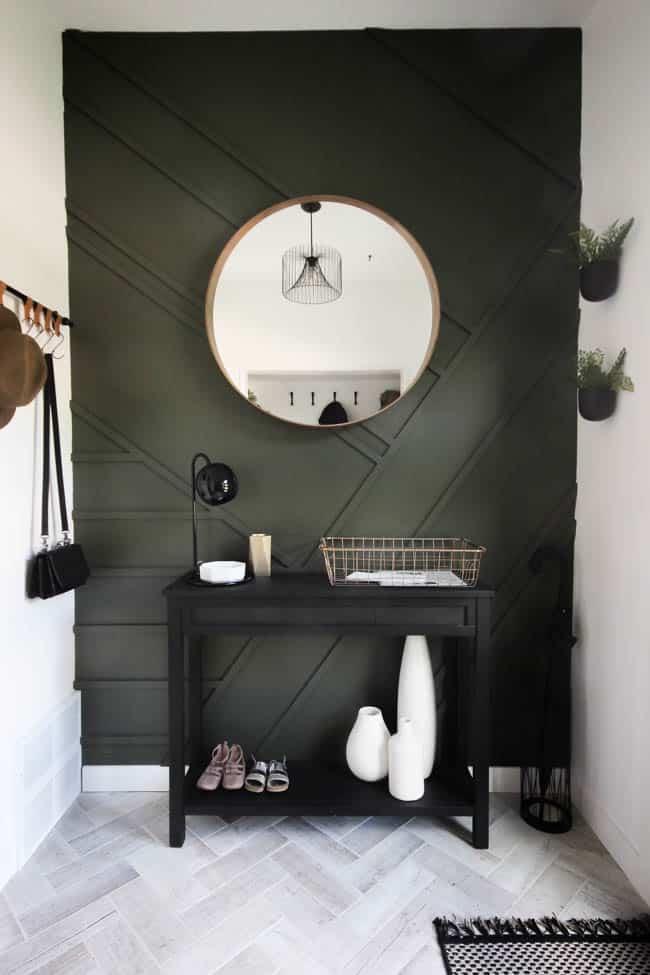 DIY para paredes decoradas con madera.