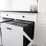 Diy Pull Out Trash Can Cabinet Love Create Celebrate