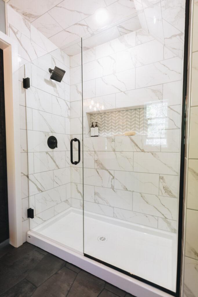 modern farmhouse bathroom love create