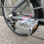 軽量?軽くない折り畳み自転車(小径車)