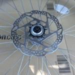 自転車のディスクブレーキ ローターを初めて外してみた