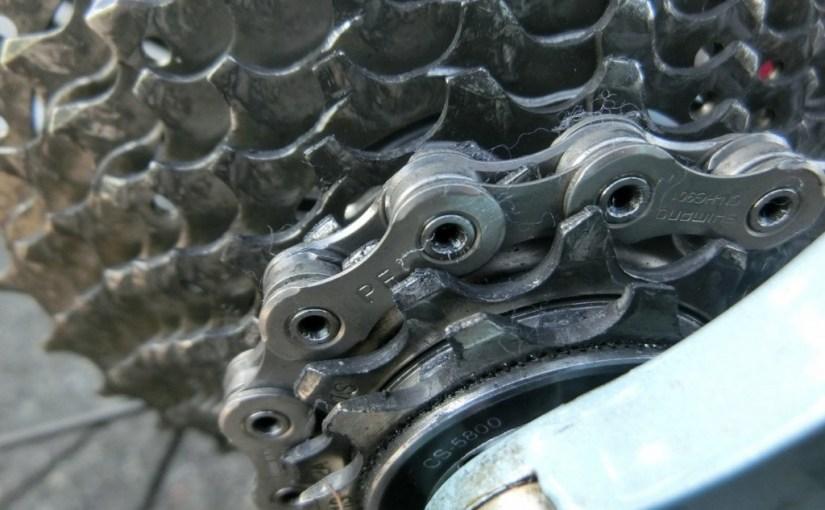 自転車のギシギシ音 意外な所が多いね