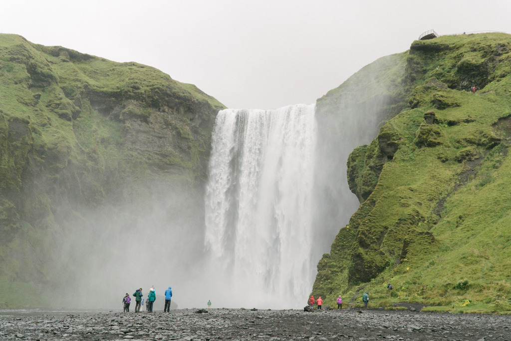 iceland ring road skogafoss