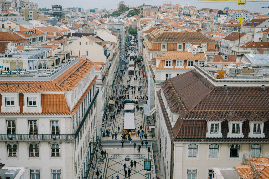 portugal lisbon viewpoint