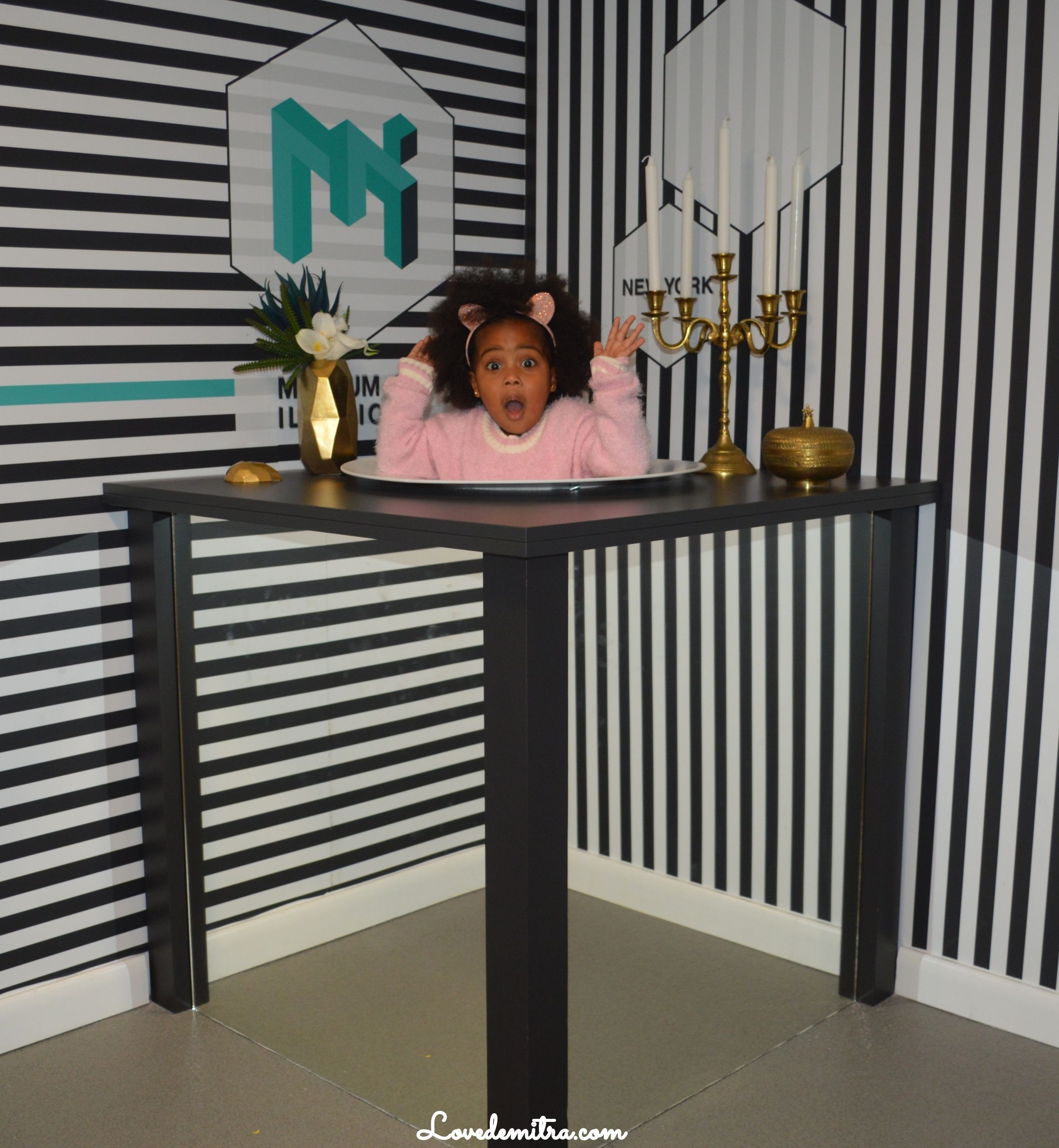 Family Trip To The Museum of Illusions