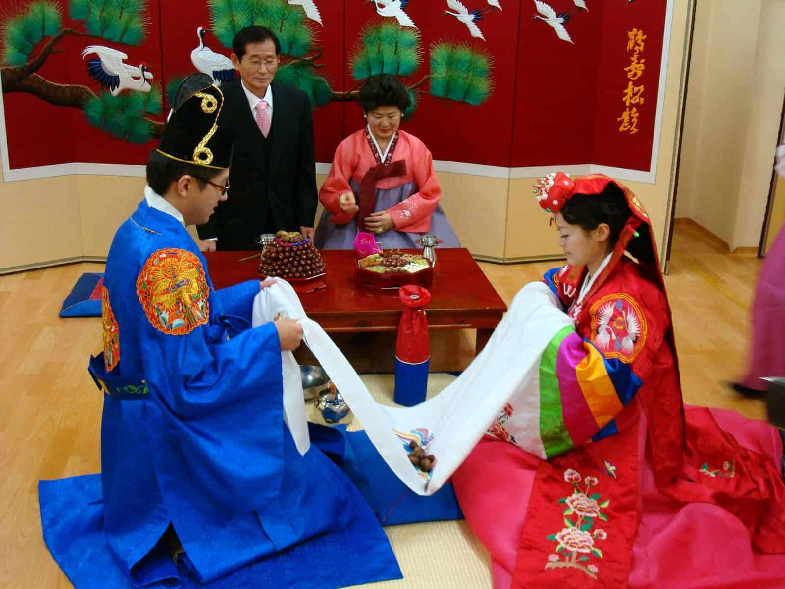13 Steps In Traditional Wedding In Korea