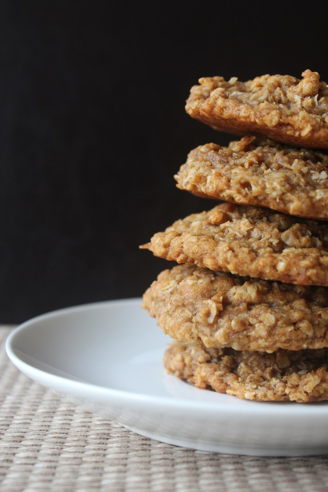 oat coconut cookies