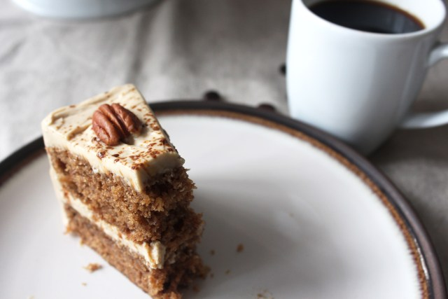 Coffee and Pecan cake11