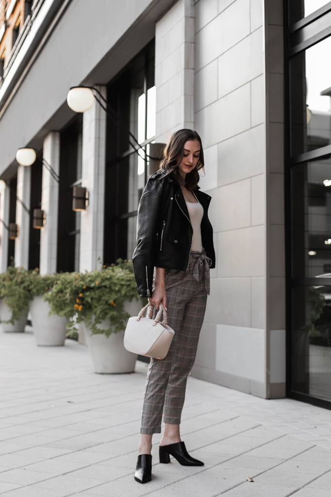 transitional workwear outfit