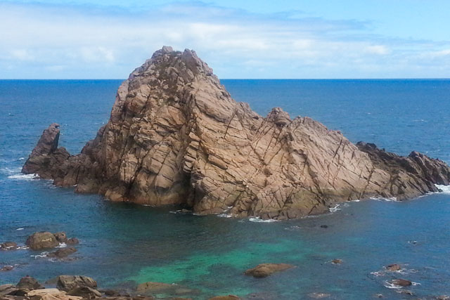 Sugarloaf Rock on the Cape to Cape track