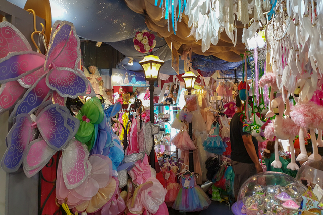 There are so many fairy related items at the Fairy Shop