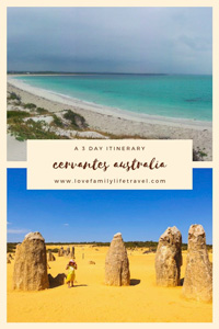 Pinterest image for Cervantes 3 day itinerary