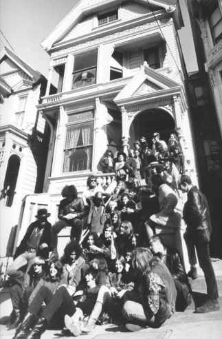 The Grateful Dead and other bands at 710 Ashbury (1967)