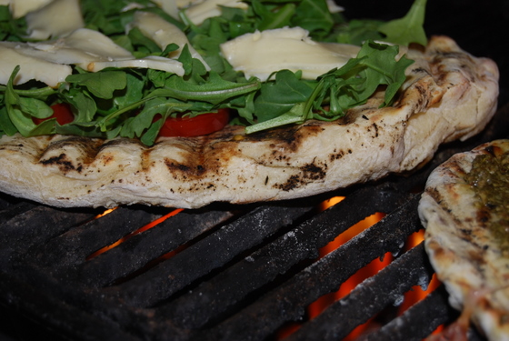 Pizza Grilled