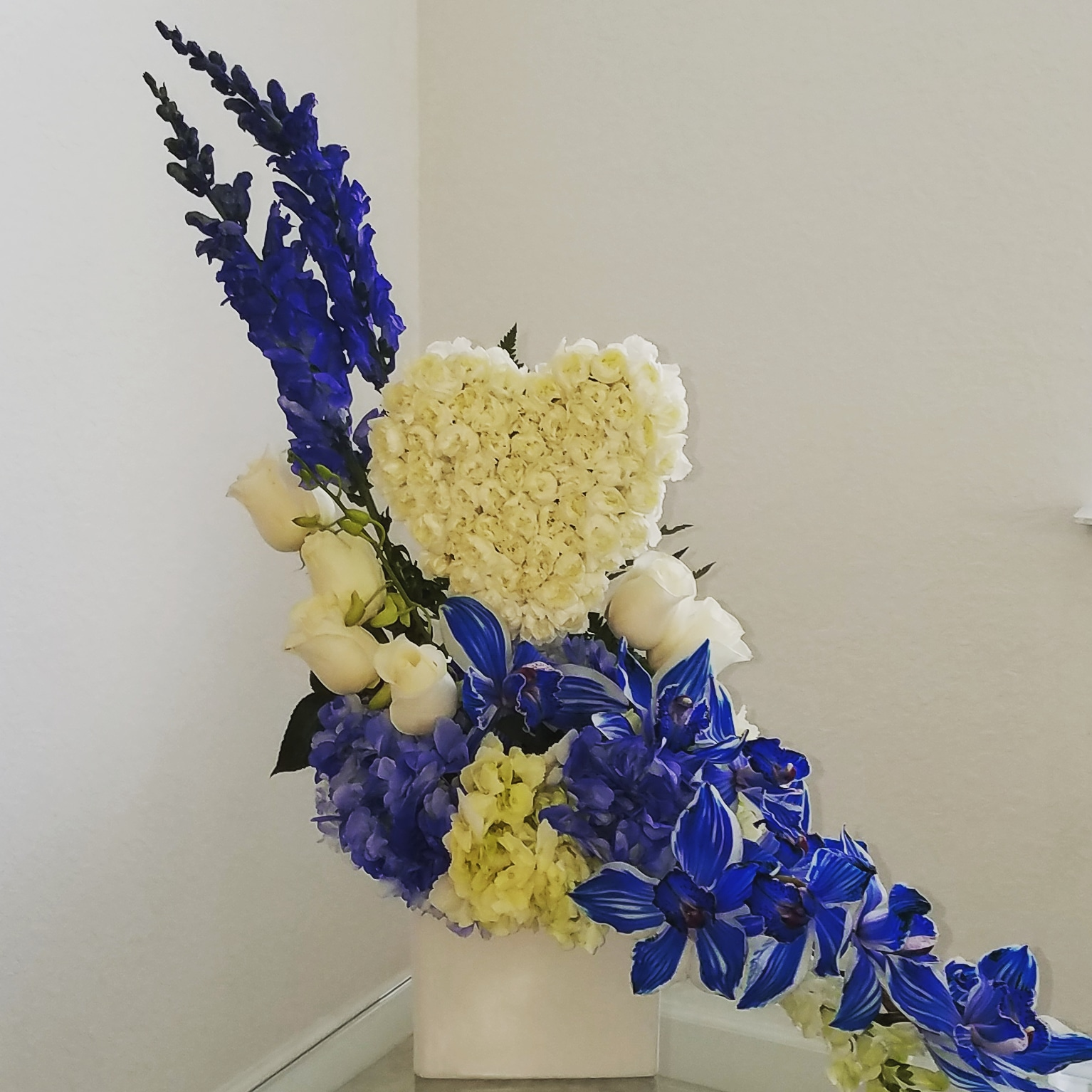 Blue Passion Love Flowers