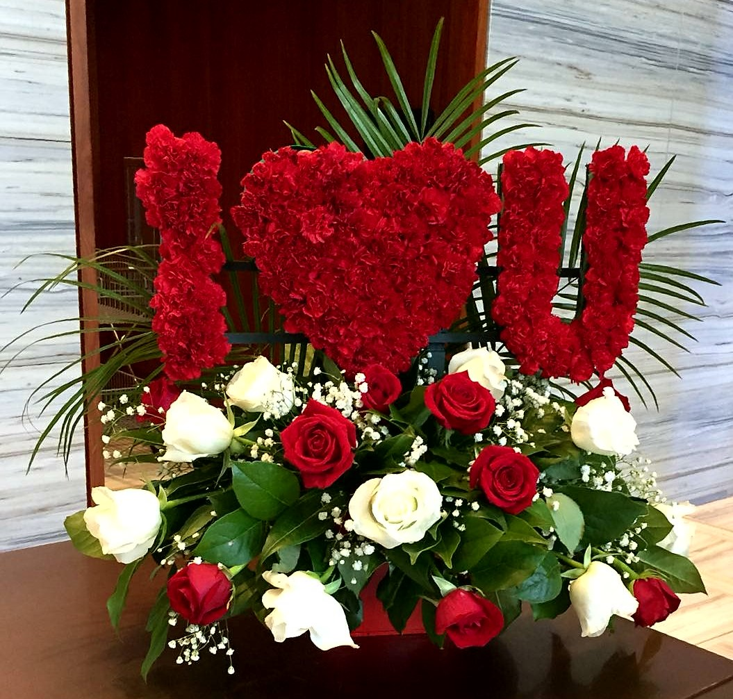 I LOVE YOU BIG Love Flowers