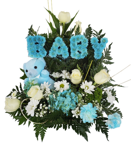 Dream Blue Baby Flowers