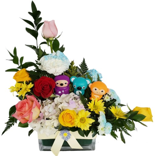 Baby-Toys Baby Flowers